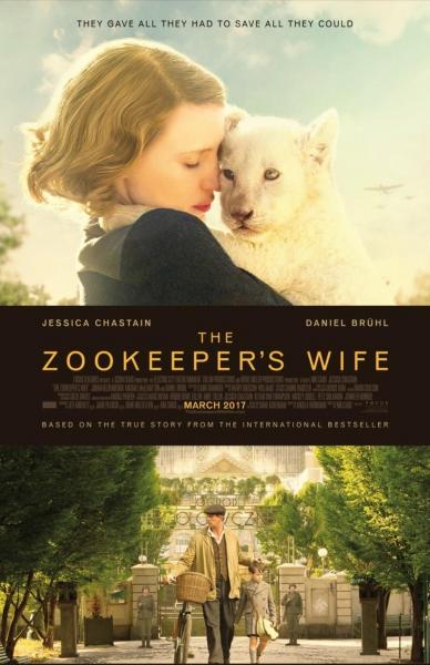 Zoologijos sodo prižiūrėtojo žmona (Zookeeper's Wife)