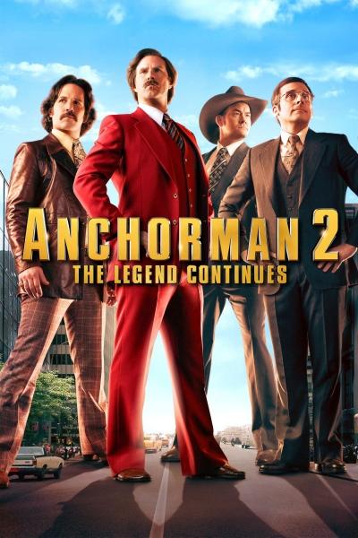 Žinių vedėjas 2. Legenda tęsiasi (Anchorman 2: The Legend Continues)