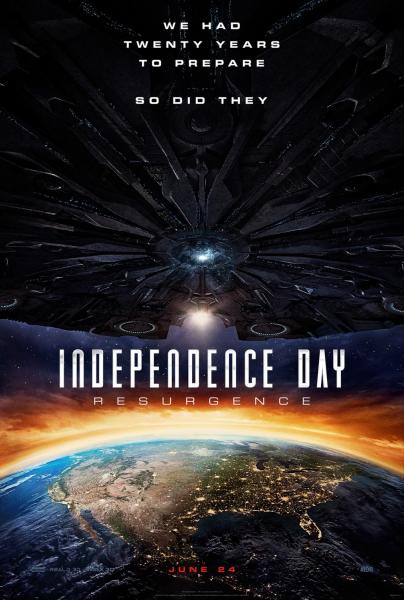 Nepriklausomybės diena: atgimimas (Independence Day: Resurgence)