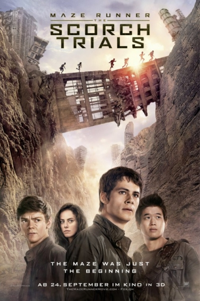 Bėgantis labirintu 2 (Maze Runner: The Scorch Trials)