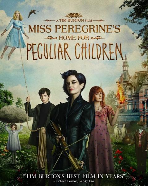 Panelės Peregrinės ypatingų vaikų namai (Miss Peregrine's Home for Peculiar Children)