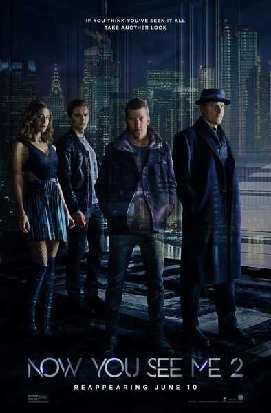 Apgaulės meistrai 2 (Now You See Me 2)