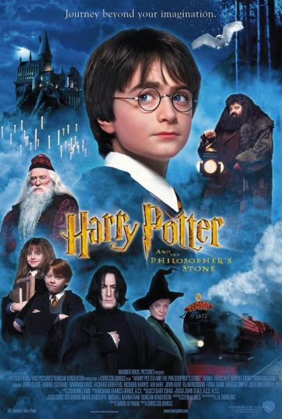 Haris Poteris ir Išminties akmuo (Harry Potter and the Philospher`s Stone)